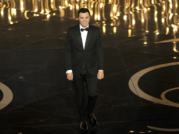 Seth MacFarlane apresentou a cerimônia do Oscar 2013 neste domingo (24) (Foto: Chris Pizzello/Invision/AP)
