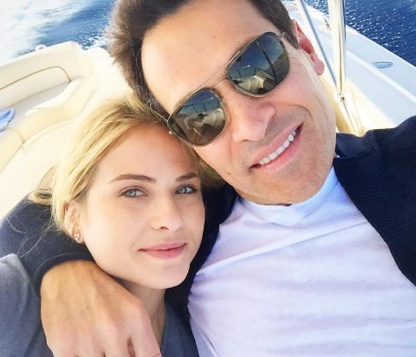 Luiza com o marido, Mariano (Foto: Reprodução/Instagram)