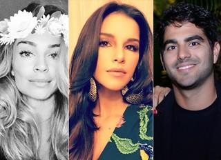 Grazi Massafera, Mariana Rios e Patrick Bulus (Foto: Instagram / Reprodução)