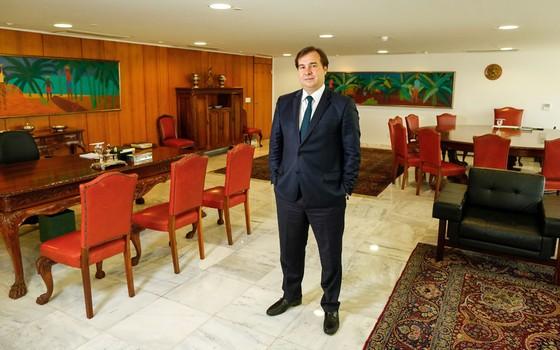 Presidente em exercício da Presidência da República , Rodrigo Maia (Foto: Sérgio Lima/ÉPOCA)