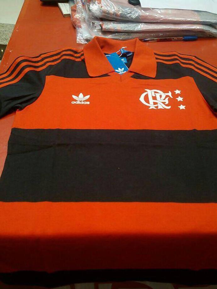 Camisa Flamengo  (Foto: Reprodução / Facebook)