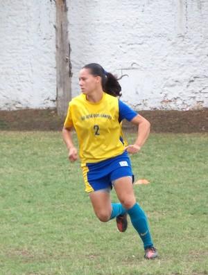 A volanta Camila, do sub-17 do São José e da Seleção Brasileira (Foto: Danilo Sardinha/Globoesporte.com)