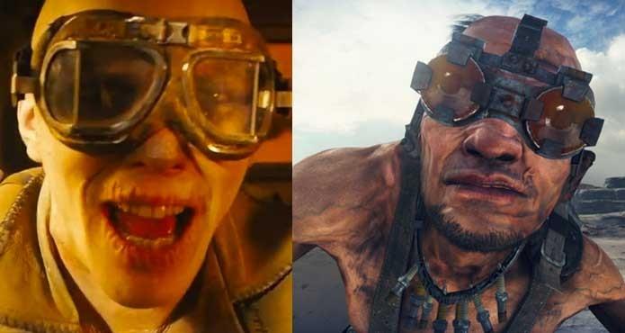 Nux e Chumbucket têm papeis semelhantes em Mad Max (Foto: Reprodução/Felipe Vinha)