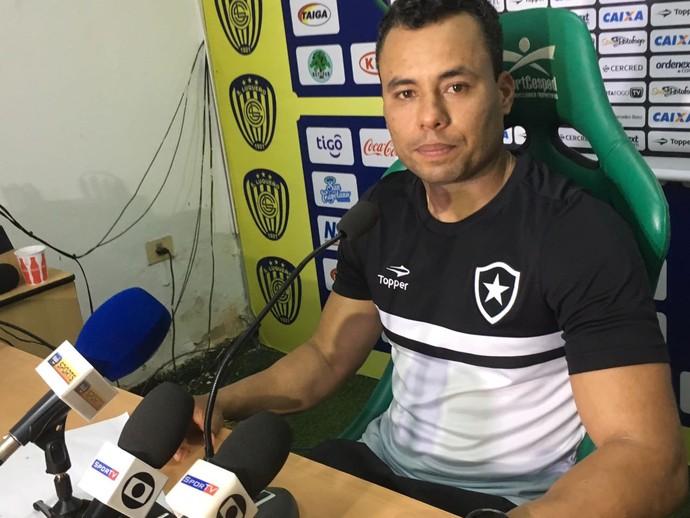 Jair Ventura, Botafogo (Foto: Marcelo Baltar)