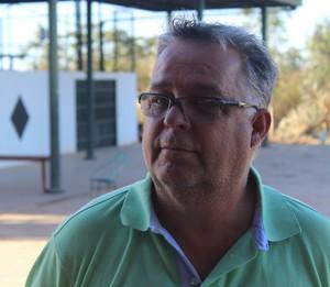 Josué Teixeira se despedindo do River-PI (Foto: Wenner Tito)