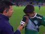 """Dudu não segura o choro ao lamentar eliminação do Palmeiras: """"É triste"""""""