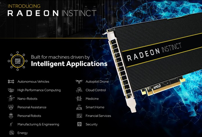 AMD anuncia sua nova linha de placas de vídeo com foco em Supercomputação (Foto: Reprodução/AMD)