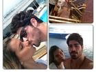 Ex-BBB Adriana se declara para noivo Rodrigão: 'Felicidade é pouco'