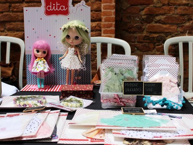 Neila participa anualmente de eventos que reúnem colecionadoras de todo o país (Foto: Patrícia Andrade/G1)