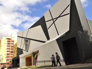 Teatro Castro Mendes em Campinas, SP (Foto: Lucas Jerônimo/G1)