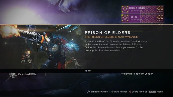 Novo modo de Prisão virou sensação no Destiny (Foto: Reprodução/Thiago Barros)