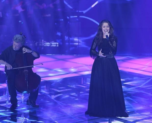 Carla Casarim The Voice (Foto: Camila Serejo/Gshow)