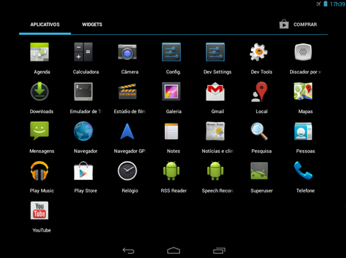 screenshot de Android