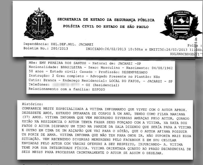 Boletim de Ocorrência mafia do apito 2 (Foto: Divulgação)