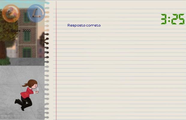 Jogo mescla mecanismo de 'runner' com quiz para Ensino à Distância (Foto: Reprodução/ Freddy Bear Game Development)