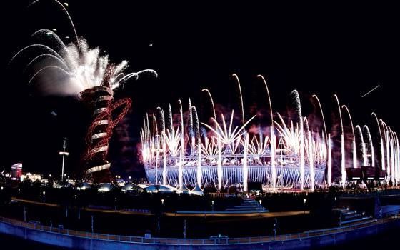 Abertura  das Olimpíadas de Londres em 2012 (Foto: Tim Wimborne/ REUTERS)