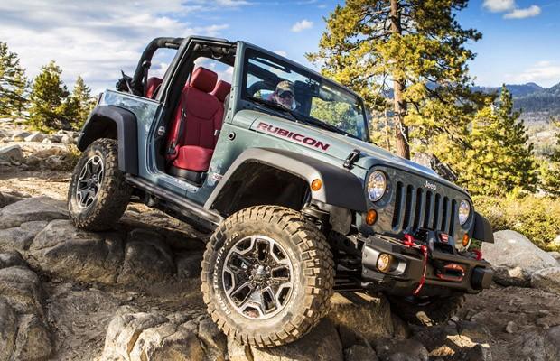 Attractive Jeep Wrangler Rubicon 10th Anniversary Edition (Foto: Divulgação)
