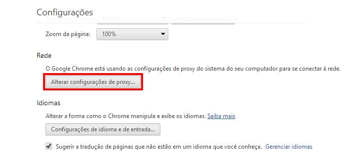 Altere o proxy (Foto: Reprodução/Paulo Alves)