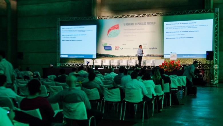 fórum-abisolo-sustentabilidade-nutrição-vegetal  (Foto: Divulgação )