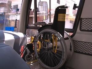 Compra do ônibus determinada pelo MP-RO (Foto: TV Cacoal/Reprodução)
