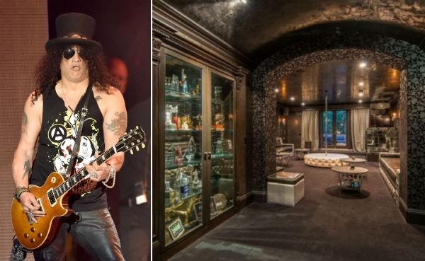 A mansão vendida pelo músico Slash (Foto: Getty Images/Divulgação)