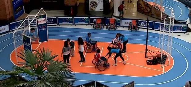 Exposição Porto Alegre Paralímpicos  (Foto: Reprodução SporTV)