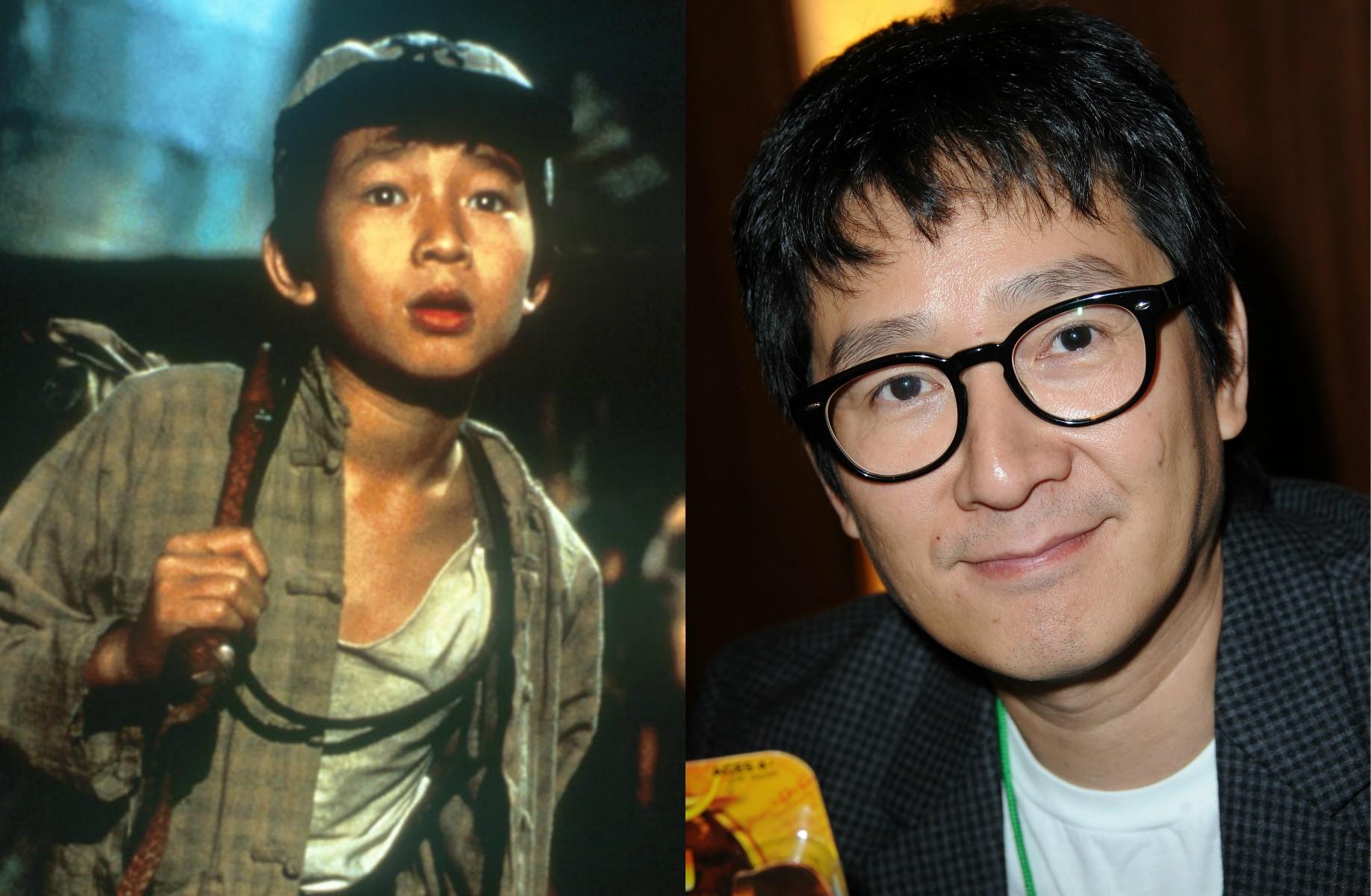 Lembra-se do vietnamita Jonathan Ke Quan em 'Indiana Jones e o Templo da Perdição' (1984)? O ator completa 43 anos neste mês de agosto. (Foto: Reprodução e Getty Images)