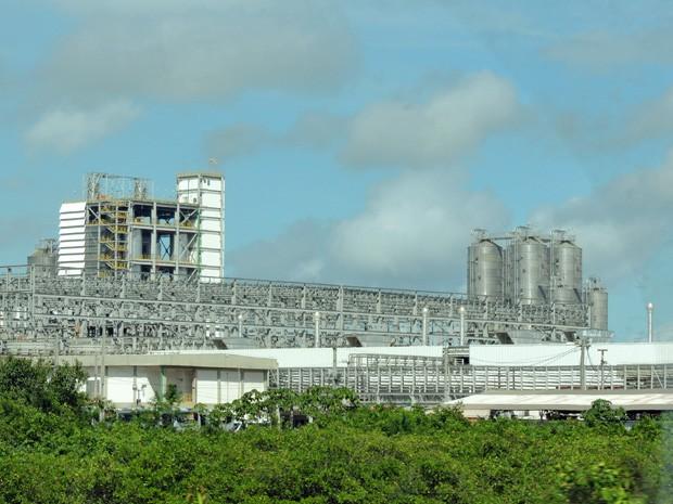 Refinaria Abreu e Lima, no Complexo Industrial de Suape, no Litoral Sul de Pernambuco. (Foto: Katherine Coutinho / G1)