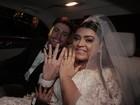 Vídeo: recém-casada, Preta Gil festeja com Rodrigo Godoy