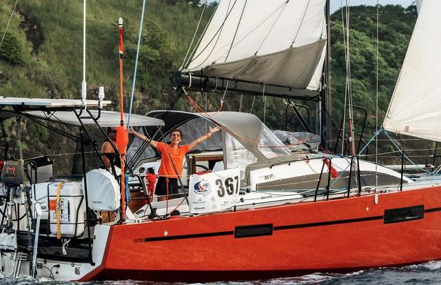 Patrícia Finardi na Martinica (Foto: Divulgação/ Arquivo Pessoal)