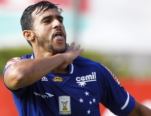 Henrique Dourado, atacante do Cruzeiro (Foto: Washington Alves / Light Press)