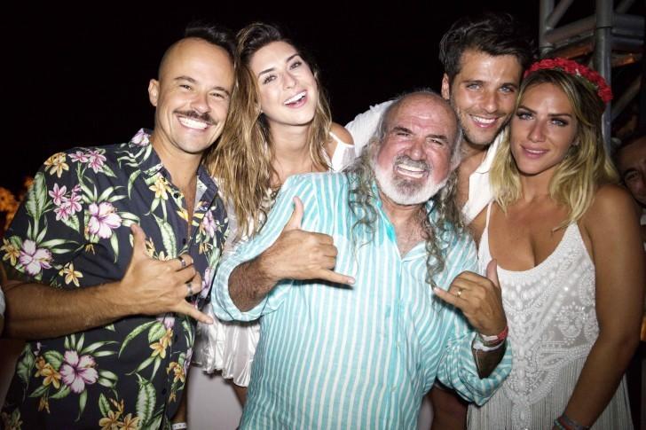 Paulinho Villhena, Fernanda Paes Leme, Zé Maria Bruno Gagliasso e Giovanna Ewbank
