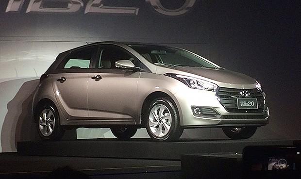 Novo Hyundai HB20 é lançado em Atibaia (SP) (Foto: Julio Cabral/Autoesporte)