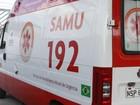 Ambulância com paciente é assaltada no bairro do Aurá em Ananindeua