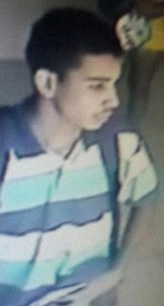 Segundo a PM, suspeito morto aparece em imagem gravada durante assalto em uma outra casa lotérica alvo de tentativa de assalto, também em Natal (Foto: Divulgação/Assessoria de comunicação do BPChoque)