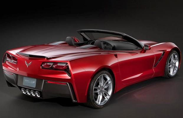 Chevrolet Corvette conversível: vocês aprovam? (Foto: Reprodução da internet)