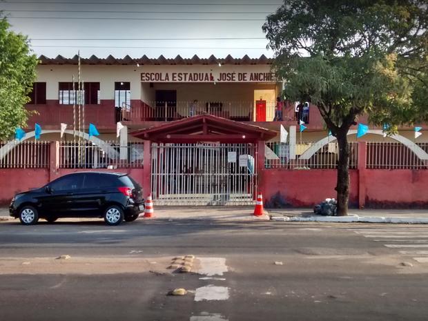 escola, jose de anchieta, furto, roubo, Macapá, Amapá (Foto: Reprodução/ Google)