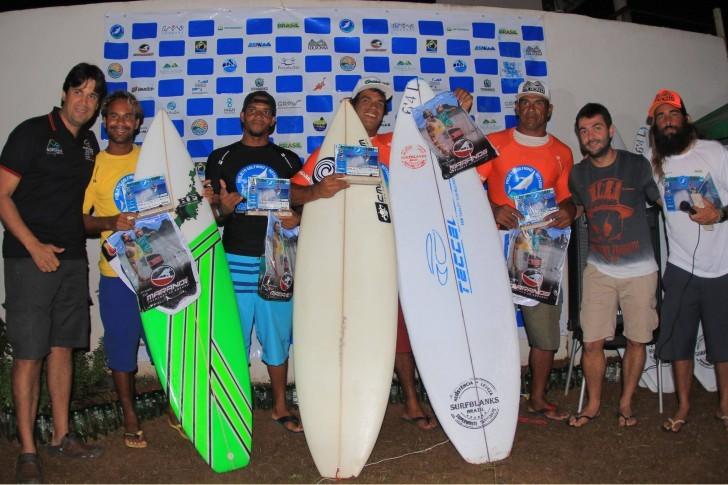 Vencedores Circuito Projeto Golfinho Rotador de Surfe