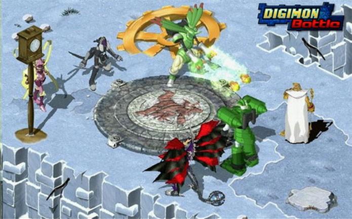 Digimon Battle Online era outro no estilo MMO (Foto: Divulgação)