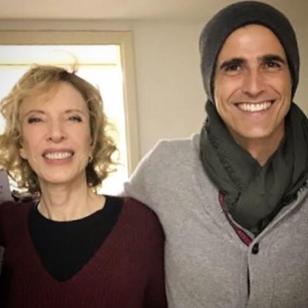Reynaldo Gianecchini e Marilia Gabriela (Foto: Reprodução/Instagram)