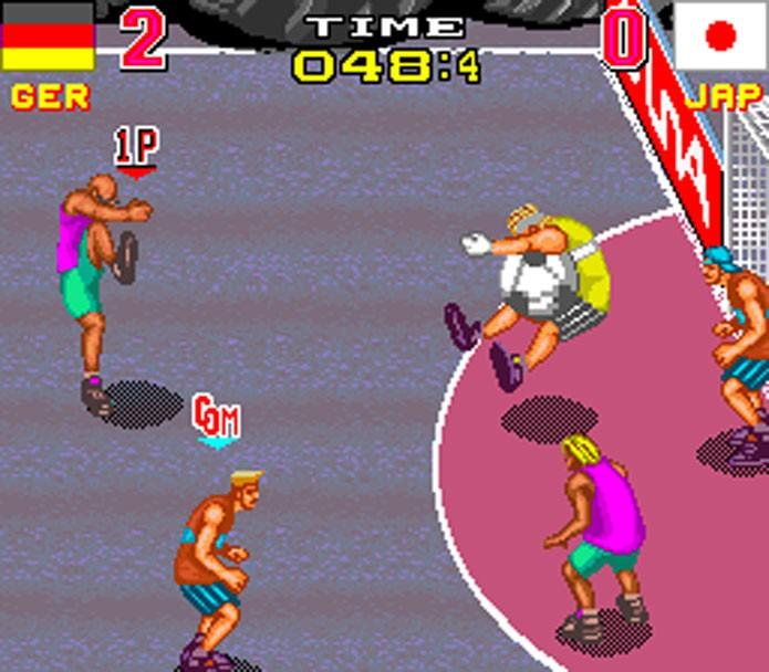 Back Street Soccer era quase um jogo de luta (Foto: Divulgação)