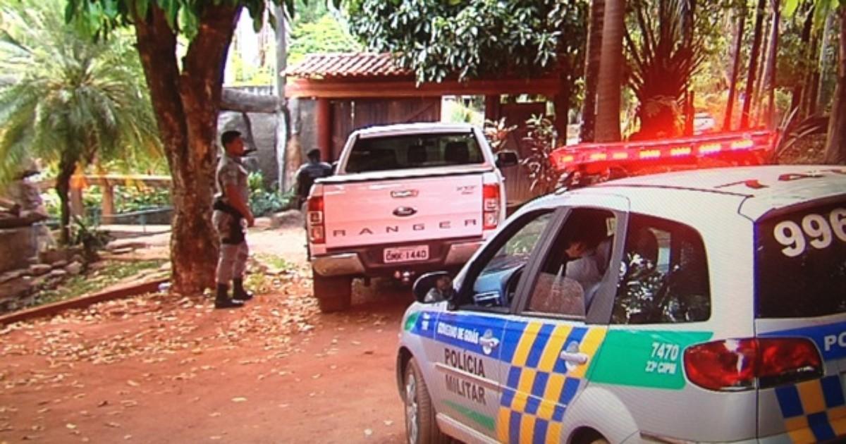 Casal é assassinado em chácara durante festa em Nerópolis, Goiás - Globo.com
