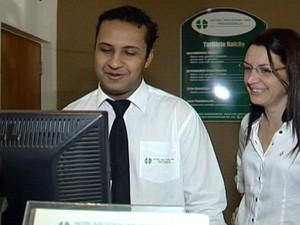 Hotéis de Araxá investem no turismo de negócios  (Foto: Reprodução/TV Integração)