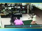 Homens invadem Supermercado, dão tiros e levam R$ 4 mil