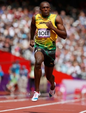 usain bolt atletismo londres 2012 (Foto: Ag&#234;ncia Reuters)