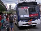 Motoristas de  ônibus aderem à greve (Reprodução / TV TEM)