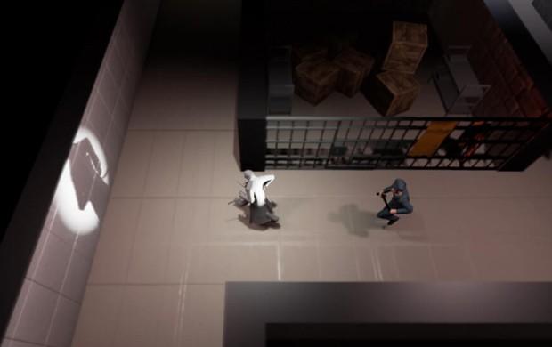 Em 'Run', jogador controla personagem afetado por esquizofrenia e deve fugir de prisão (Foto: Divulgação/Torch Games)