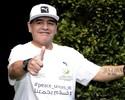 Unidos somente contra a paz: Maradona alfineta, e Icardi rebate