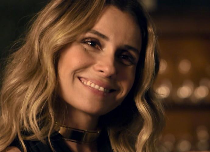 Giovanna Antonelli será Atena e promete muitas emoções (Foto: TV Globo)