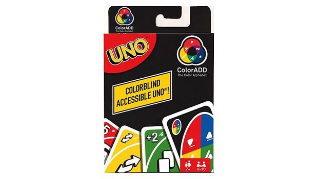 Jogo Uno especial para daltônicos (Foto: Divulgação Mattel )